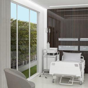 Architetti Campana - Clinica Novamedis - Degenza - Render