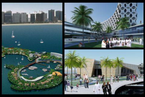 Dolphin Island - Abu Dhabi
