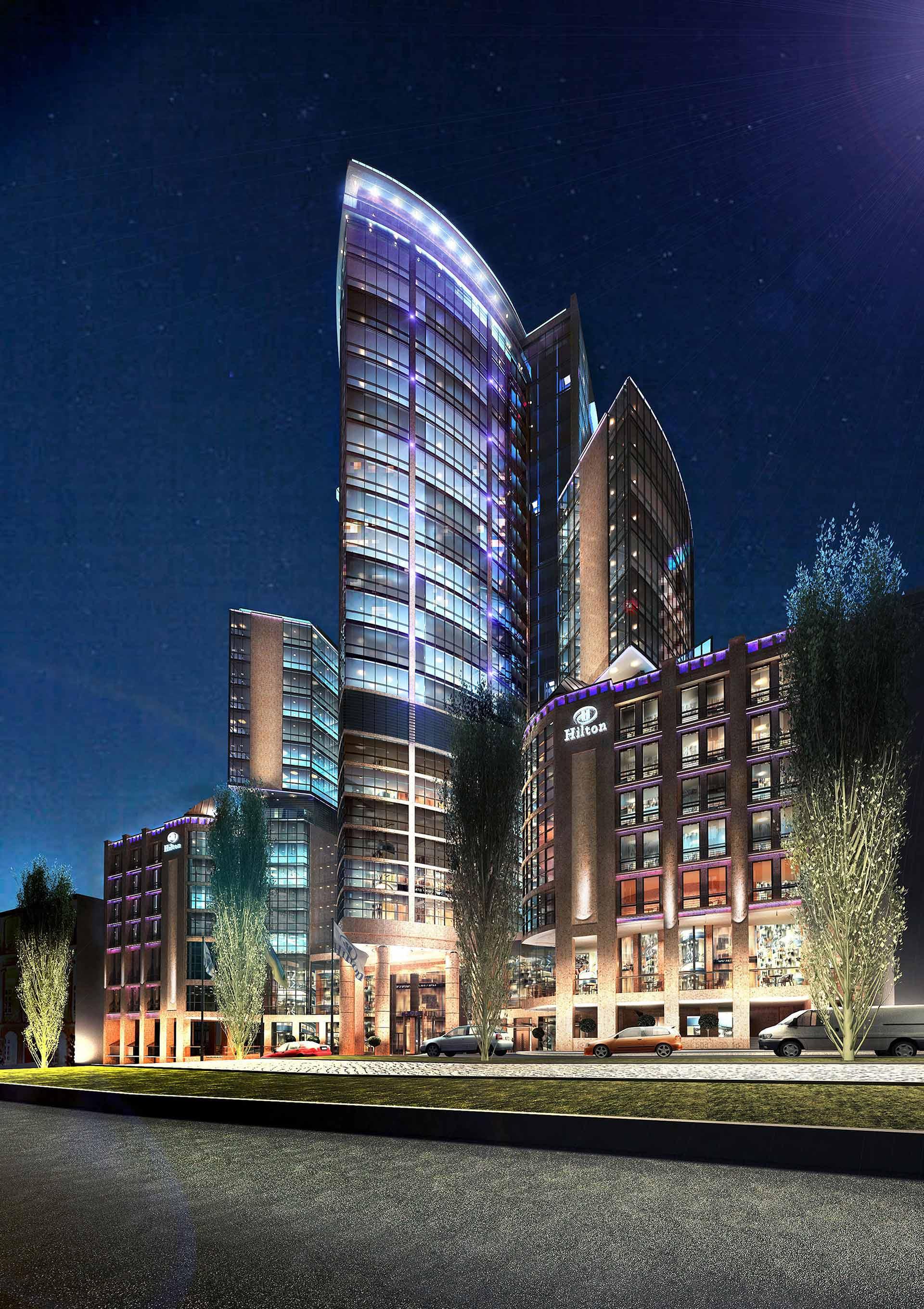 Architetti Campana - Hotel Hilton - Kiev - Anteprima