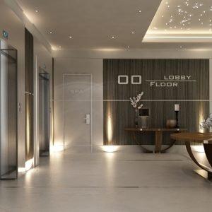 Architetti Campana - Hotel Hilton - Kiev - Hall