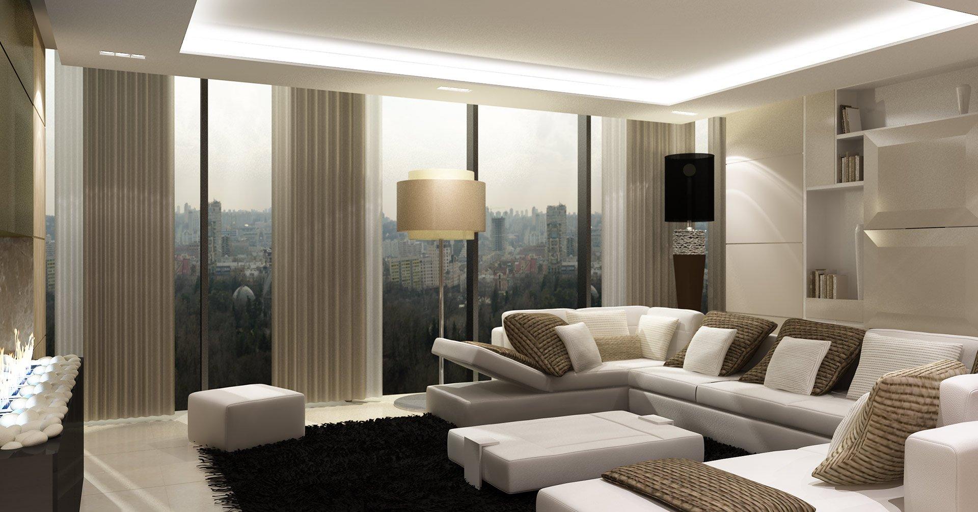 Architetti Campana - Hotel Hilton - Kiev - Soggiorno