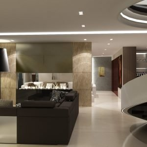 Architetti Campana - Hotel Hilton - Kiev - Suite