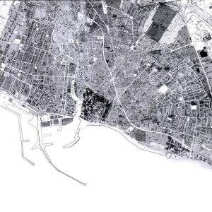 Architetti Campana - Porto turistico - Mazara del Vallo - Pianta