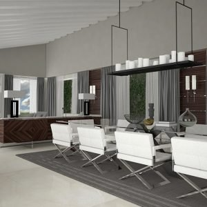 Architetti Campana - Villa Pal - Depandance - Vista2 - Render