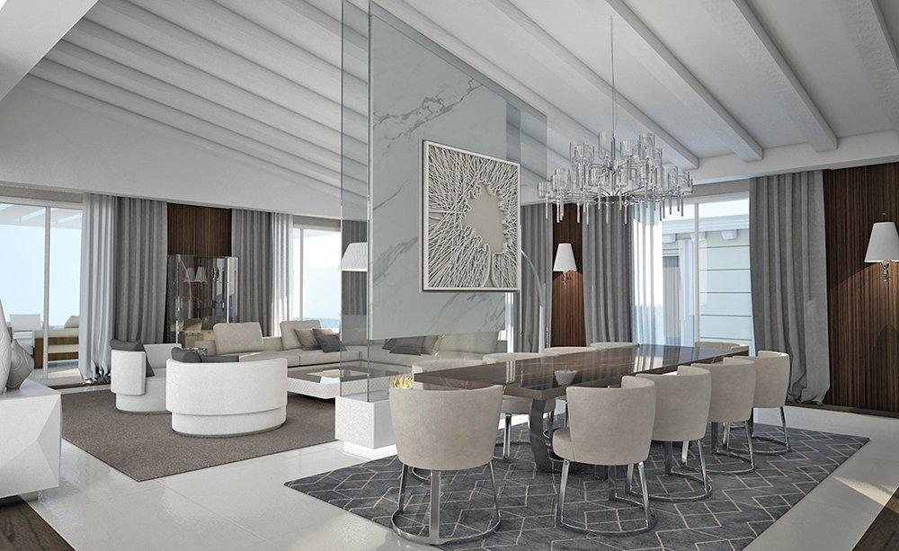 Architetti Campana - Villa Pal - Depandance - Vista7 - Render