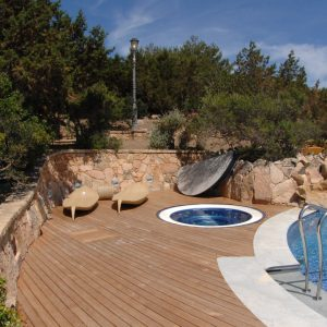 Architetti Campana - Villa - Porto Rotondo - Zona piscina